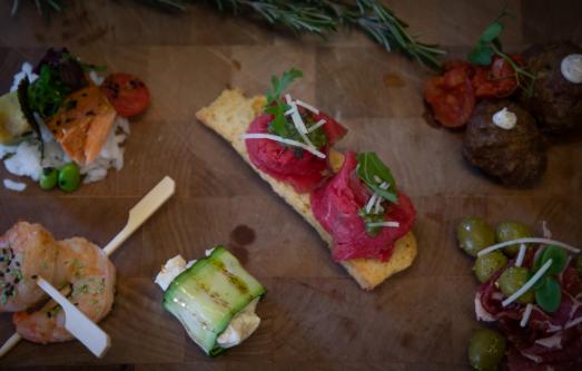 Evenementen catering – 2 chefs cooking