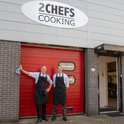 2 chefs cooking Hillegom